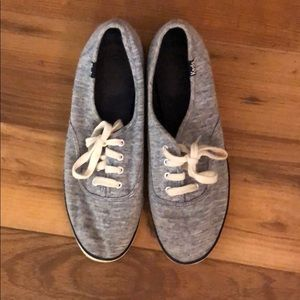 Keds gray sneakers, size 7.5, good condition